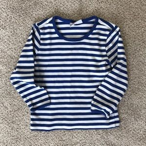 Hanna Andersson striped long sleeved T-shirt 3T